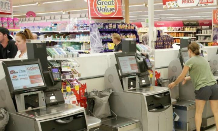 Woman outs husband for self-service checkout theft