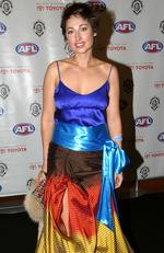 2005 - Justina Noble at Brownlow Medal presentation at Crown Casino in Melbourne. Picture: News Corp