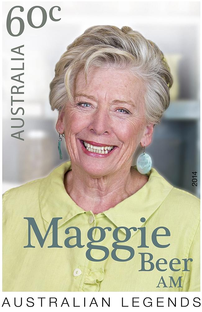Maggie Beer AM Much-loved Australian cook, food author, TV personality and food manufacturer.