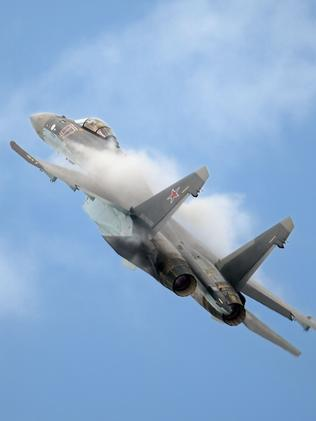 Look at me ... current-generation Sukhoi SU-35 fighters are being marketed as a proven alternative to the F-35. Indonesia is proving to be increasingly interested.