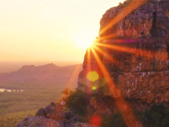 New drone footage, which comes from a partnership between Tourism NT and Kakadu National Park, offers a rare glimpse at one of Australia's most stunning regions. Picture: Tourism NT