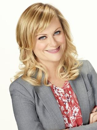 Amy Poehler, here as Leslie Knope in  <i>Parks and Recreation</i>, hopes viewers will care about Abbi and Ilana.