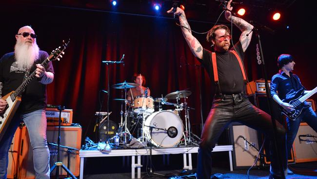 Eagles of Death Metal will return to Paris on Tuesday. Picture: AFP/TT News Agency/Vilhelm Stokstad TT