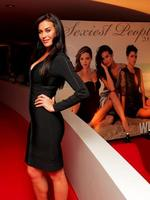 <p>Megan Gale at Who Magazine's 2009 Sexiest People Party at the Summit Bar and Restaurant, Australia Square.</p>