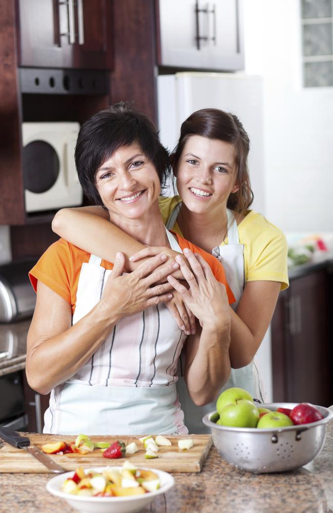 An estimated $5000 a year extra in costs ... A mother with her gen Y daughter. Picture: Thinkstock.