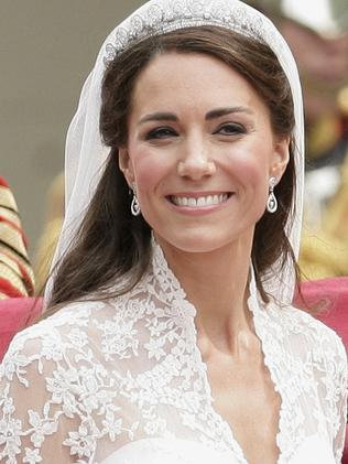Catherine, Duchess of Cambridge, after her wedding. Picture: Getty
