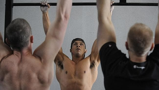 Participation in the CrossFit games has increased 400 per cent in two years.