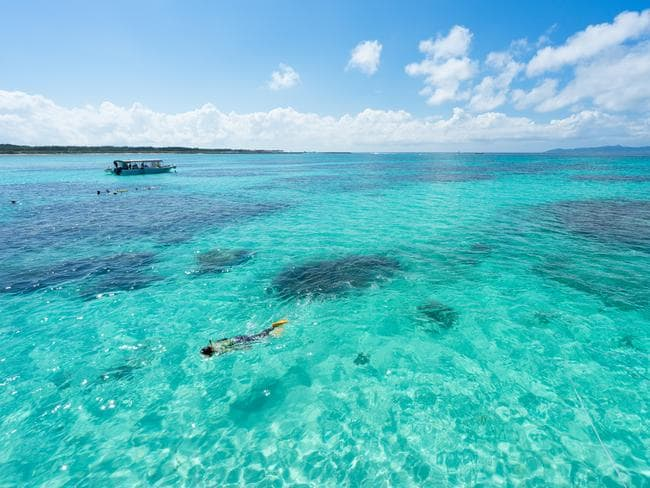 Ishigaki's coral reefs make it popular among divers and snorkellers.