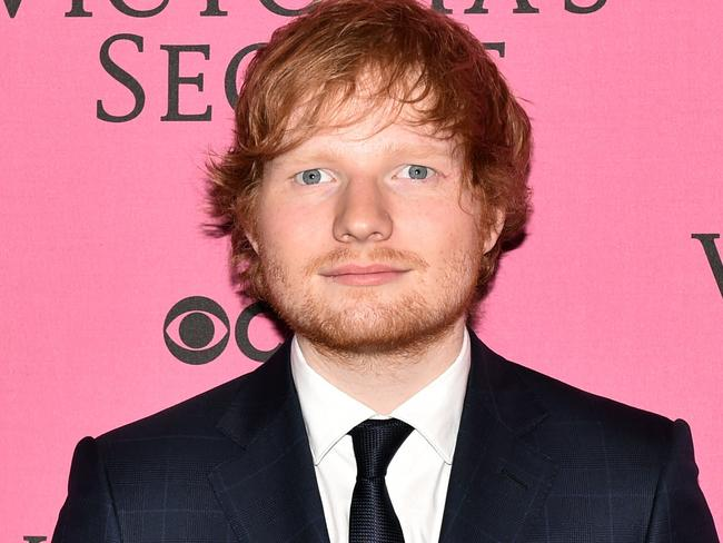 Global star ... English singer Ed Sheeran has worked with Skrillex. Picture: AFP