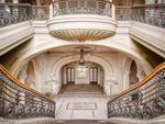 The once grand staircase in the abandoned casino. Picture: Roman Robroek/Caters News Agency