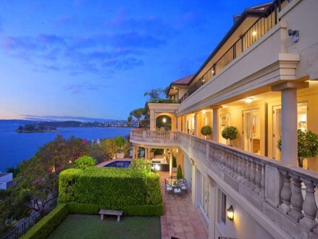 Top of the list: Mandalay, Wolseley Rd, Point Piper. Picture: realestate.com.au