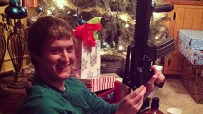 Instagram users have celebrated receiving assault weapons for Christmas.