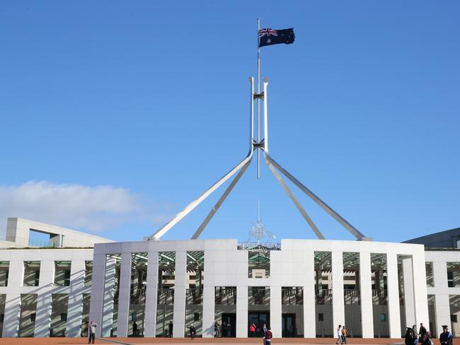 Australia's parliament house is in Canberra ... not Sydney.