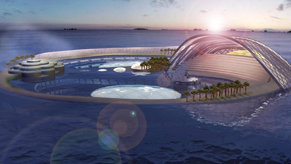 North korea plans to build an underwater hotel as part of for Beat hotel in dubai