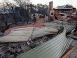 The seaside town of Tathra on the NSW south coast, lost 70 homes in a massive blaze. Picture Gary Ramage