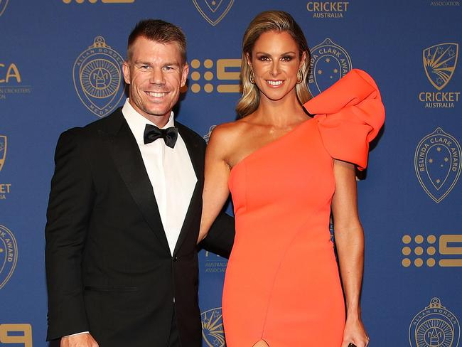 Candice Warner has unfairly been dragged through the mud.