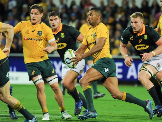 Kurtley Beale was the Wallabies stand-out against the Springboks.