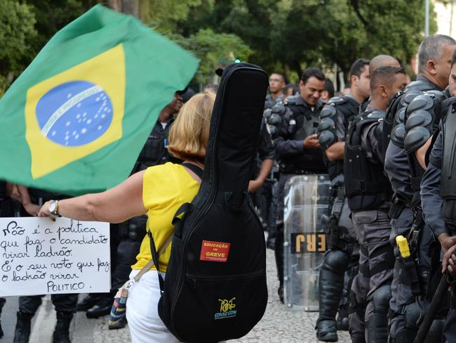Brazil is facing a new flare-up of protests against the money being spent on the tournament, which demonstrators say would have been better used on education, health care and transport.