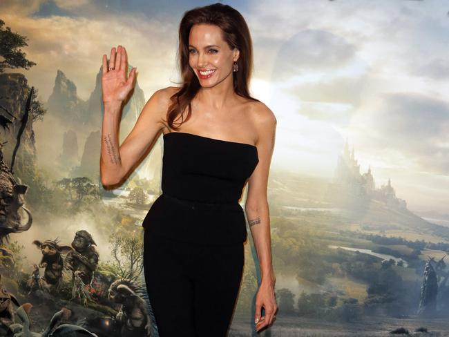 Multitalented...Jolie poses during a photocall for the film <i> Maleficent</i> in Paris. The actor and screenwriter said directing Unbroken in Australia was one of the best experiences of her career. Picture: AP