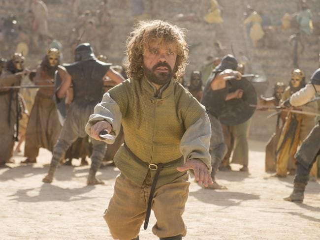 Peter Dinklage as Tyrion Lannister in Season 5 of Game Of Thrones. Picture: Supplied/Foxtel