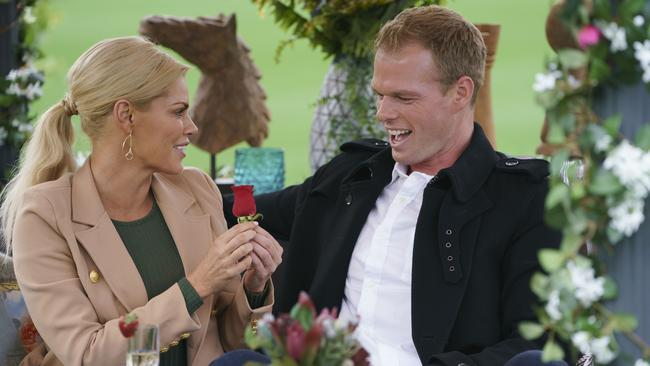 Bachelorette Contestant Jarrod Woodgate With Sophie Monk