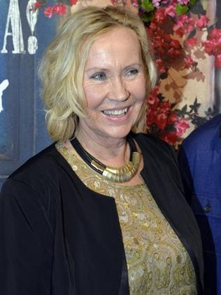 Agnetha Faltskog is no recluse. Picture: Anders Wiklund/AP