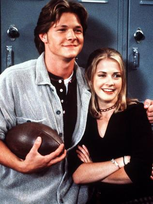 THEN: Nate Richert and Melissa Joan Hart in Sabrina, The Teenage Witch.