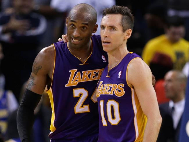 "Steve Nash called Kobe Bryant a ""Mother ... f***ing ... a***hole."" Kobe thinks that's ""tremendous""."
