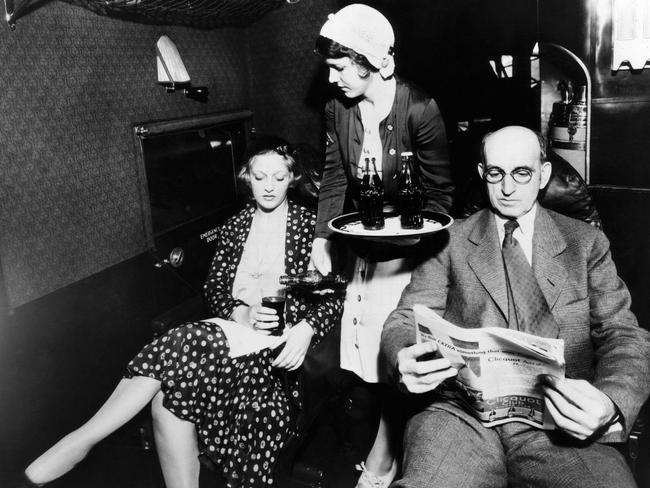 First Class back in the 1930s was a very dignified affair. Courtesy: CSU Archives/Everett Collection Picture: Alamy