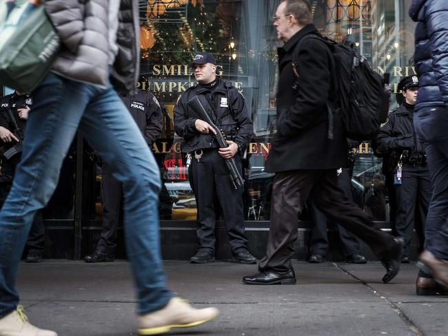 Life returns to normal outside the Port Authority Bus Terminal in New York. Picture: Drew Angerer/Getty Images/AFP
