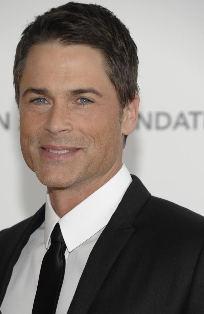 Actor Rob Lowe arrives at the Elton John Oscar Party in West Hollywood, California 07/03/2010.