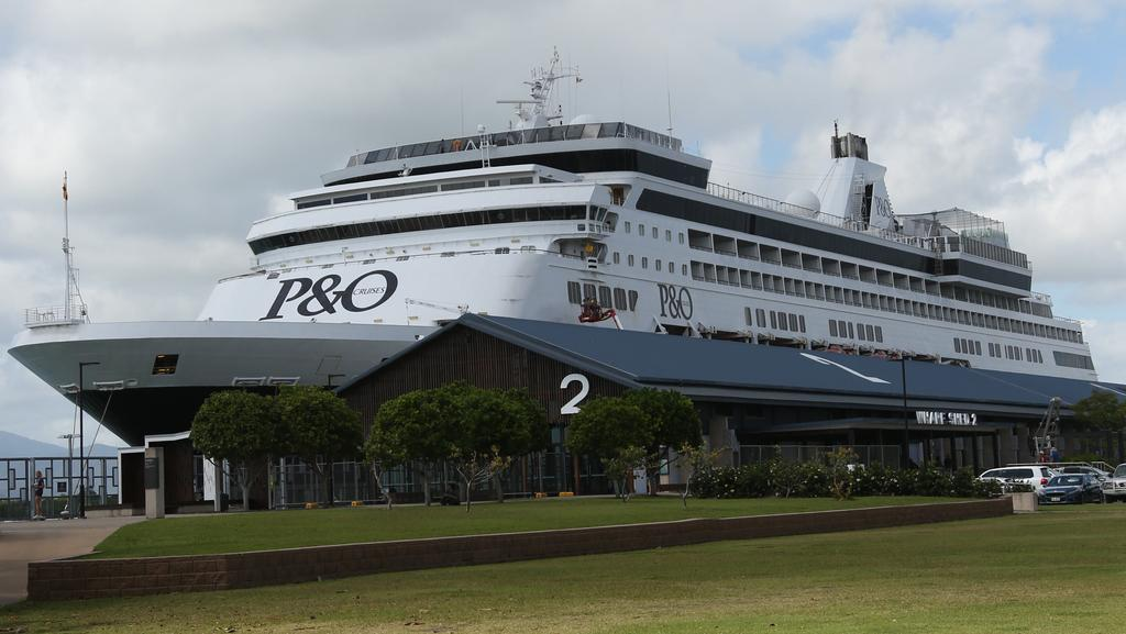 P O Reduces Pacific Edens Stopovers In Cairns Cruise Liner - Cruise ship pacific