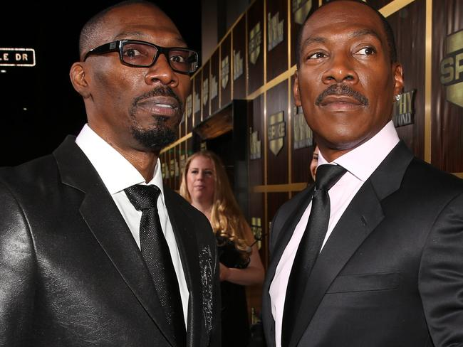 Comedian Charlie Murphy and hermit Eddie Murphy in 2012. Picture: Getty