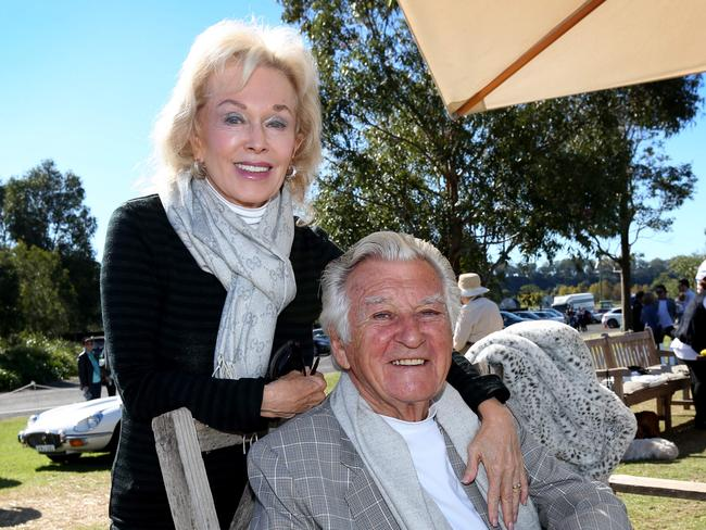 Writer Blanche d'Alpuget had a lengthy, clandestine love affair with former prime minister Bob Hawke before the couple married in 1995. Picture: Richard Dobson