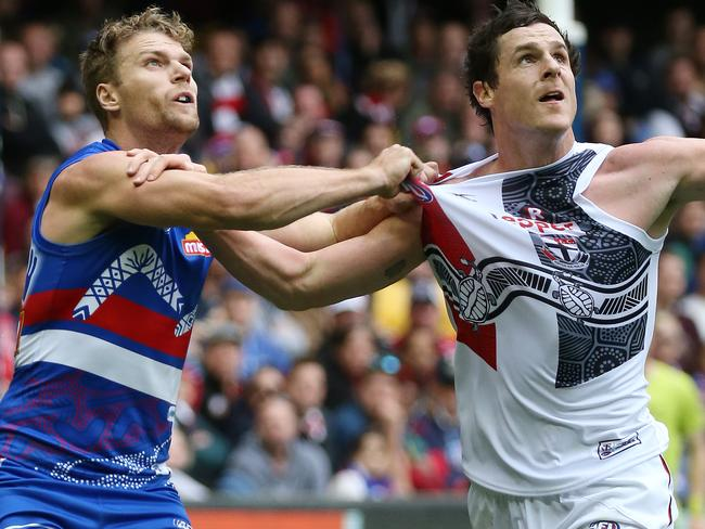 Bulldogs forward Jake Stringer is looking for a new club.