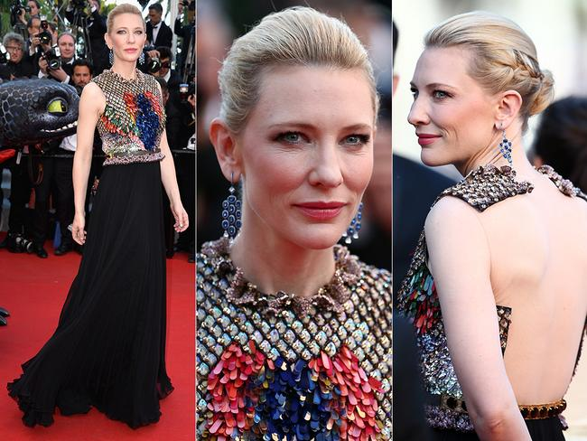 Cate Blanchett walks the red carpet at the Cannes International Film Festival 2014. Pictures: Getty