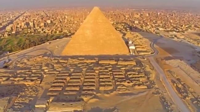 Archaeologists Uncover How The Great Pyramid Of Giza Was