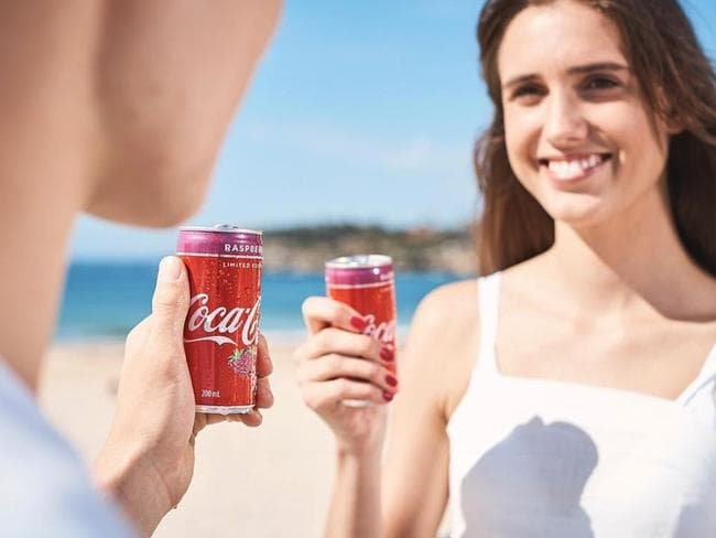 Coke fans will be in raptures over the new flavour. Picture: Supplied