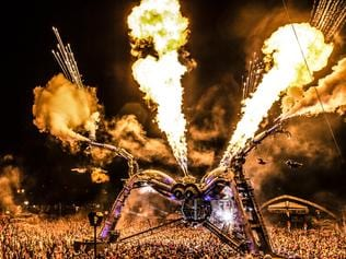 Arcadia Spectacular, are set to bring their award winning, fire breathing spider to Elizabeth Quay for an Australian Exclusive this November. Photo supplied.