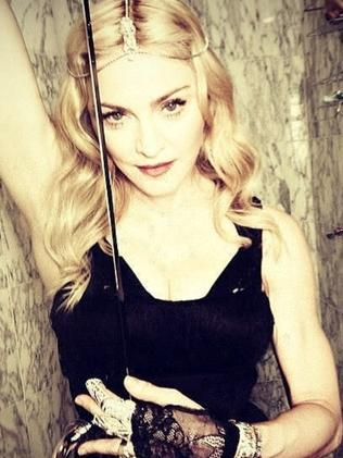 Madonna pictured wearing a Johanna Johnson label outfit. Picture: Instagram/Madonna