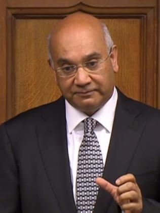 Getting legal advice. Keith Vaz. Picture: AFP/PRU.