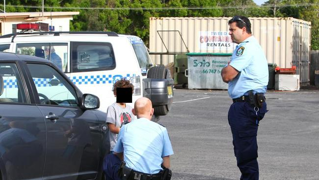 A five-year-old boy is rescued from a locked car by police.