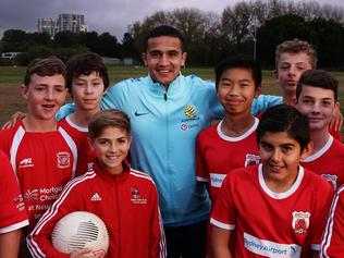 Tim Cahill kids clinic