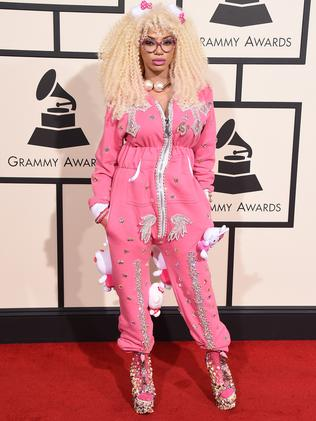 Dencia wore a onesie for all occasions.
