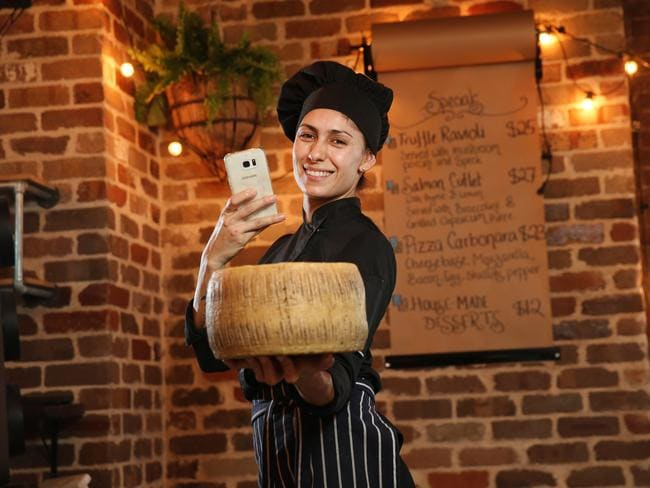 Chef Adriana Rodrigues at Salt Meats Cheese saw first-hand how Instagram can change your business. Picture: Richard Dobson