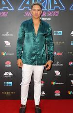 Nathaniel arrives for the 31st Annual ARIA Awards 2017 at The Star on November 28, 2017 in Sydney, Australia. Picture: Lisa Maree Williams/Getty Images for ARIA