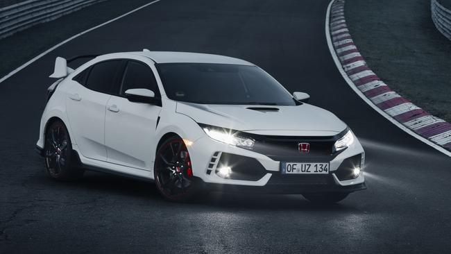New take on a classic: Honda Civic Type R. Pic: Supplied.