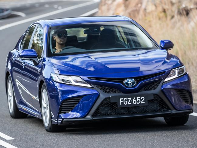 The 2018 Toyota Camry imported from Japan. Picture: Supplied.