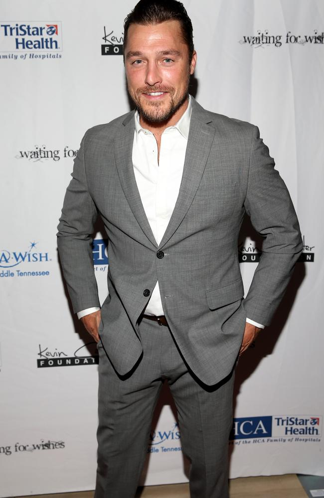 Chris Soules has been arrested on a charge of causing a deadly accident and leaving the scene. Picture: Terry Wyatt/Getty Images for The Kevin Carter Foundation