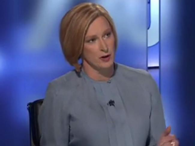 ABC 730 host Leigh Sales. Picture: ABC